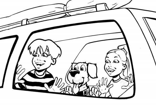 Viajes en coche con perros que se marean...