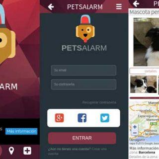 @PetsAlarm, utilidad (web, app, comunidad) para encontrar perros perdidos.