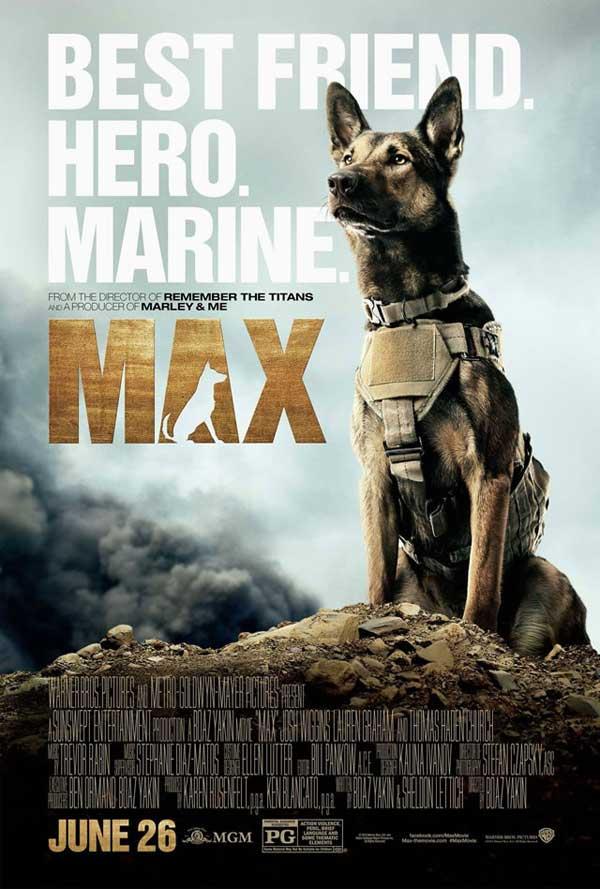 Max, el perro de la guerra (detrás de la cámara)