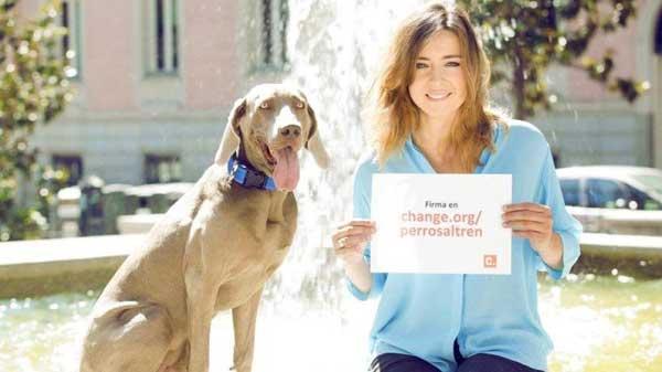 Renfe, deja que pasemos las vacaciones con nuestros perros #Perrosaltren.
