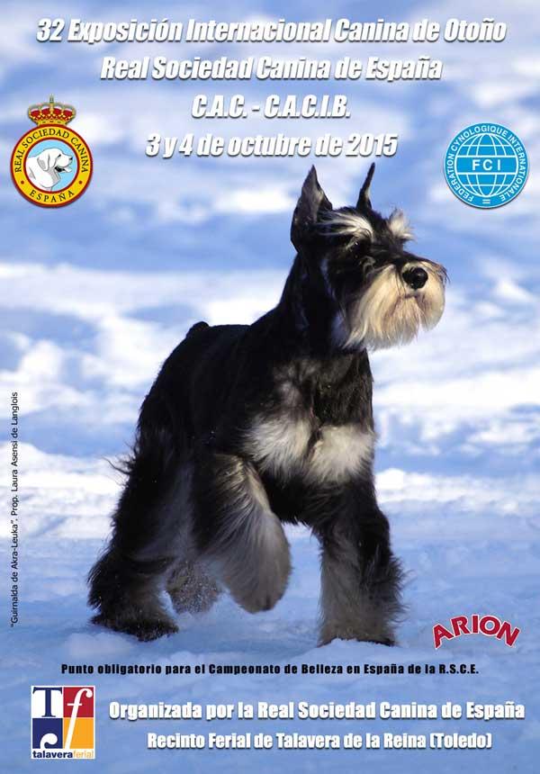 32 Exposición Canina Internacional de Otoño, próximo fin de semana en Talavera de la Reina.