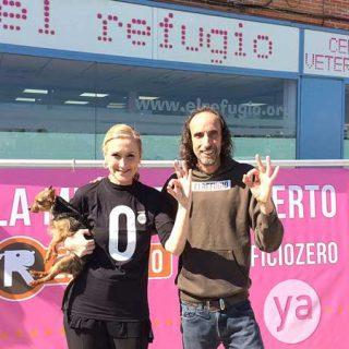 Cristina Cifuentes cumple su compromiso con El Refugio y da luz verde al #sacrificiozero de perros y gatos abandonados en la Comunidad.