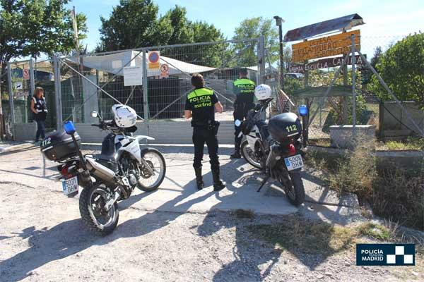 Policía Municipal de Madrid localiza un criadero y una residencia canina ilegales