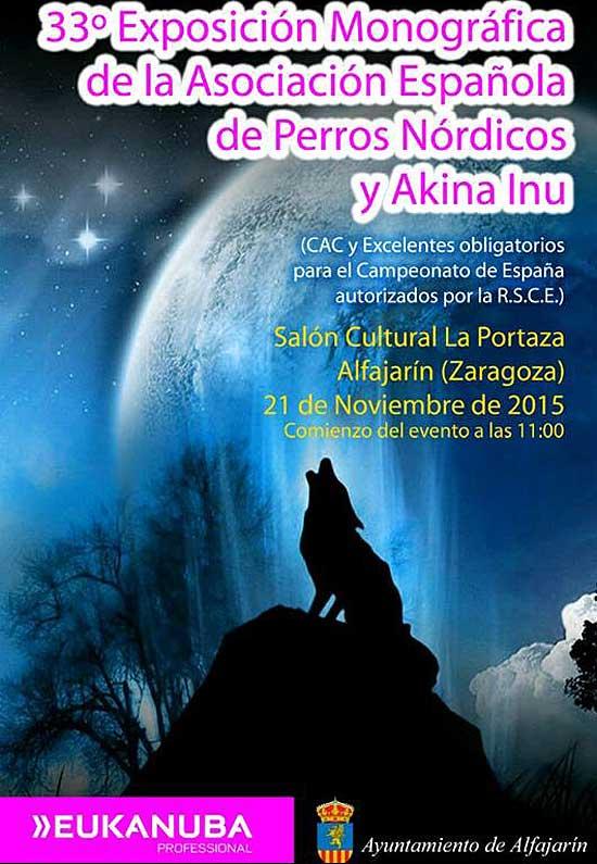 XXXIII Exposición Monográfica de la Asociación Española de #Perros Nórdicos y Akita Inu.