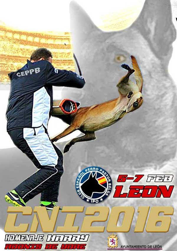 Campeonato Nacional IPO 2016 del CEPPB, inscripciones