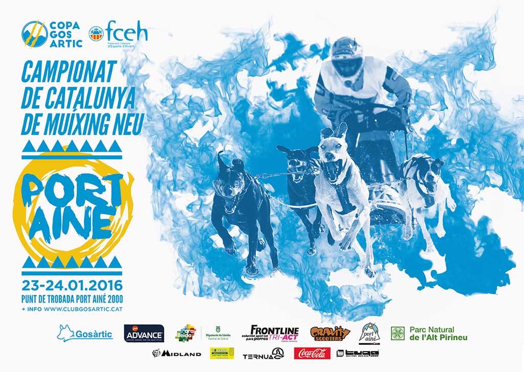 Campeonato de Cataluña de Mushing en Port Ainé