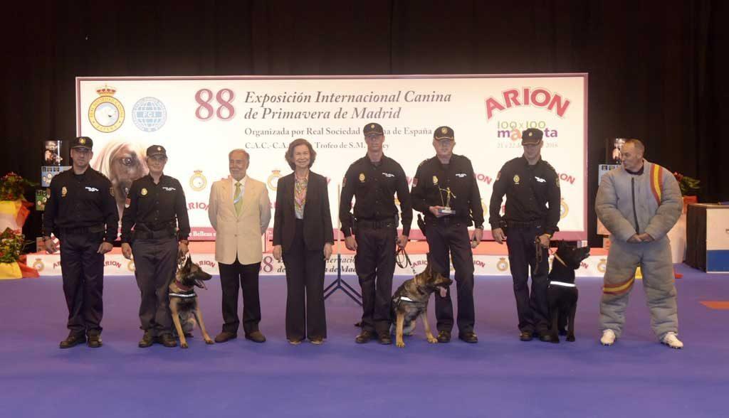 Reina-Sofia-perros-policia