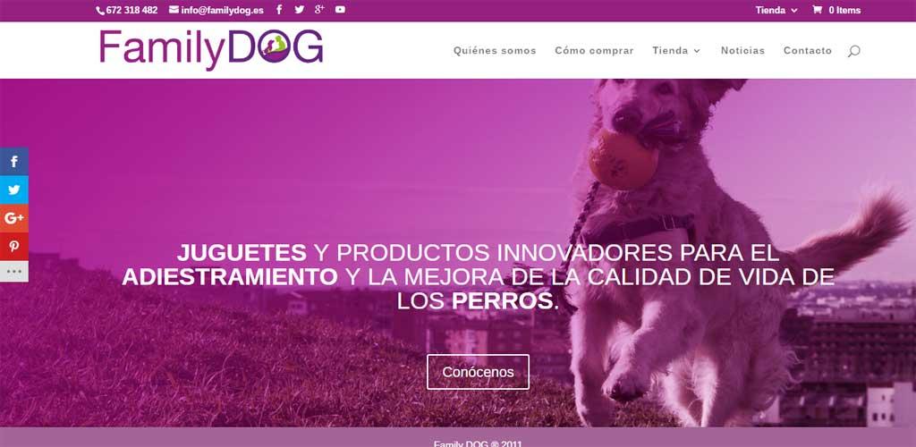 Family Dog estrena página web