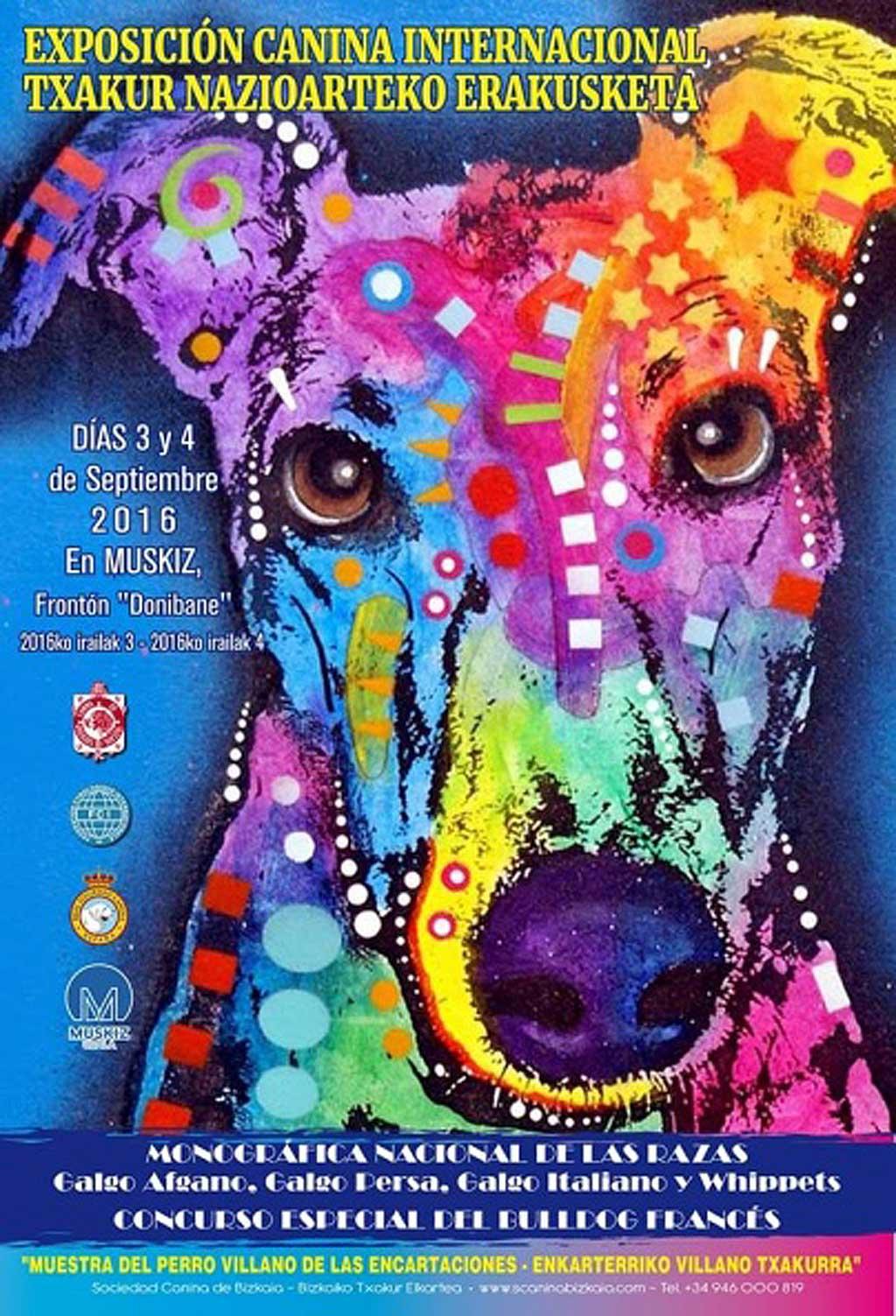 Bilbao acoge este fin de semana varias exposiciones caninas