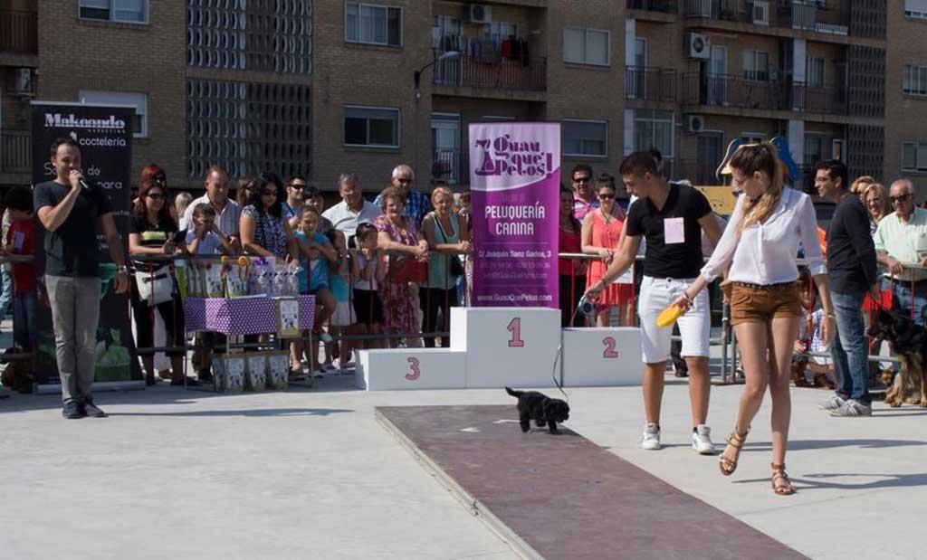 Más de 100 inscritos en el II Desfile Canino Guau, Qué Pelos!