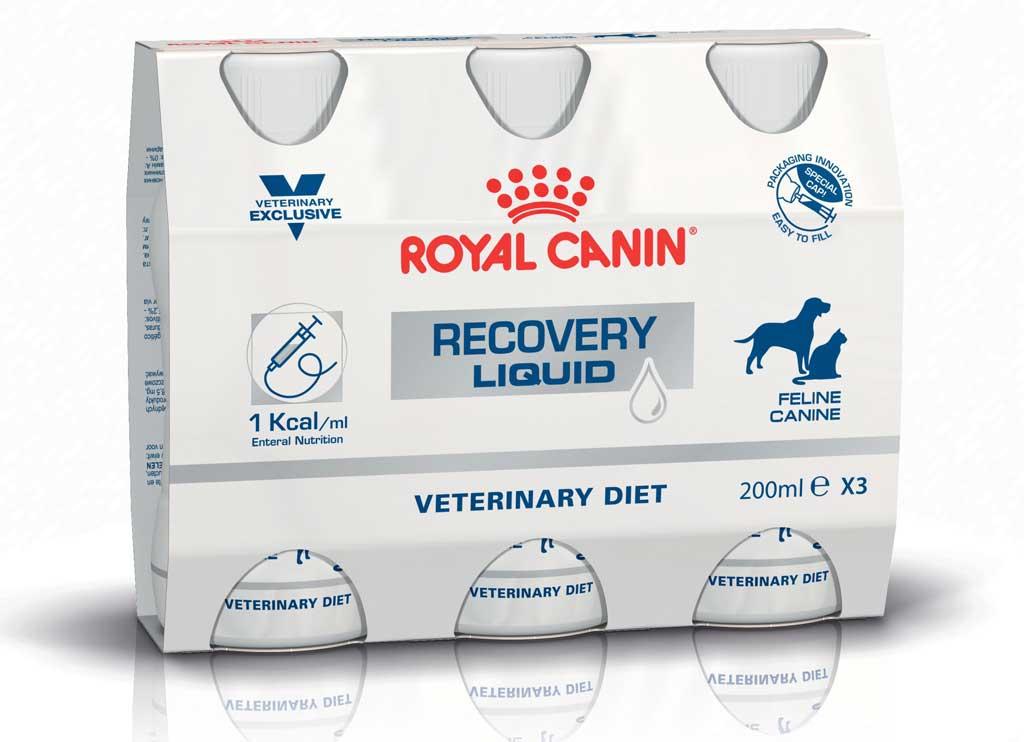 Royal Canin desarrolla una nueva gama de productos especialmente formulada para la alimentación por sonda.