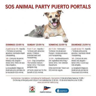 """XIV edición de la Fiesta """"SOS Animal"""""""