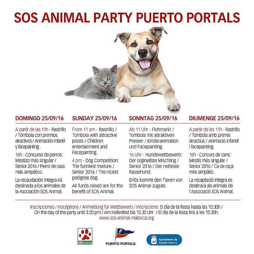 XIV edición de la Fiesta SOS Animal