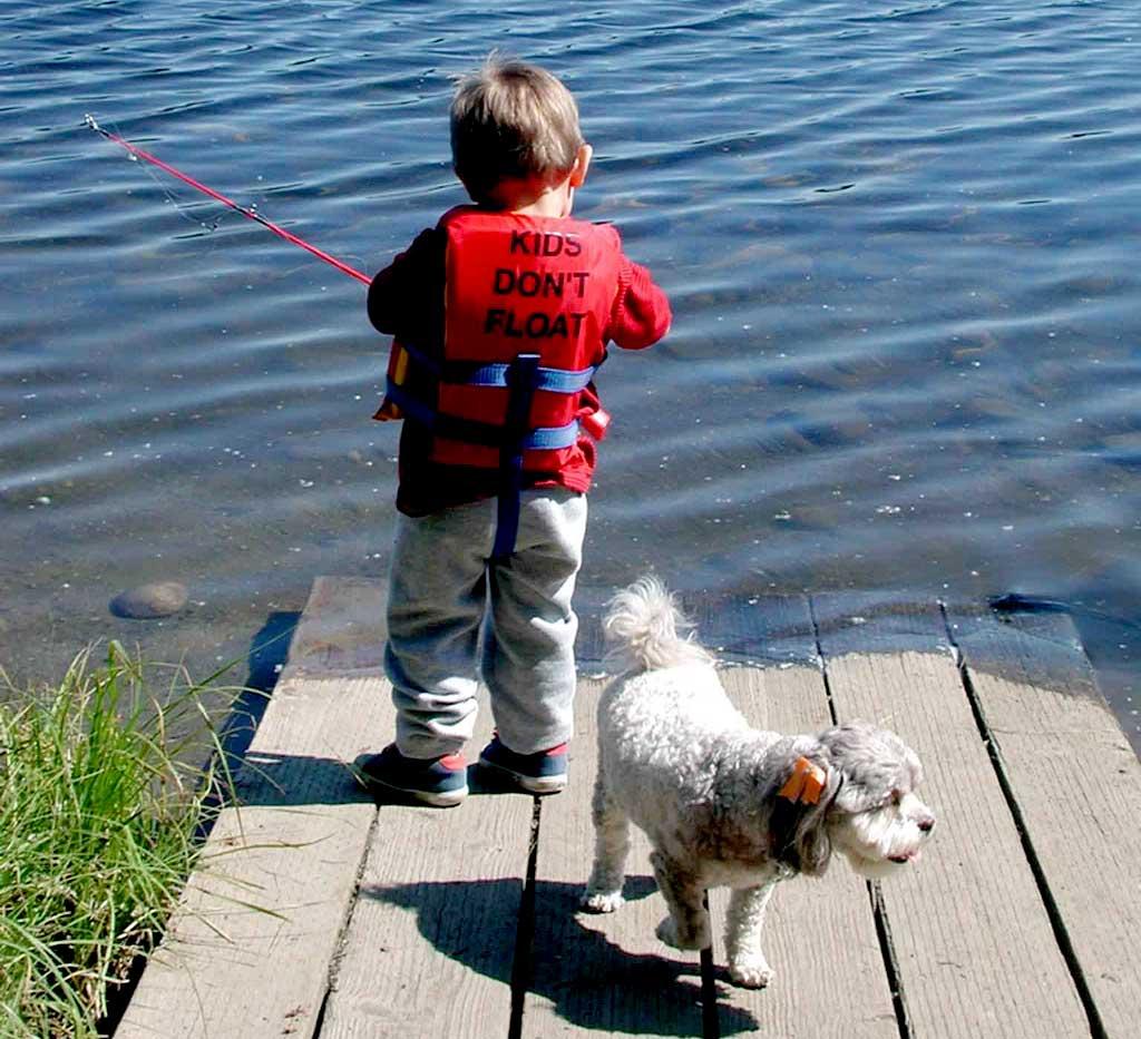 Perros, los mejores amigos de los niños