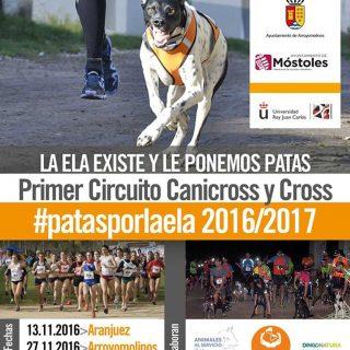 Cicuito Canicross Aranjuez #patasporlaela