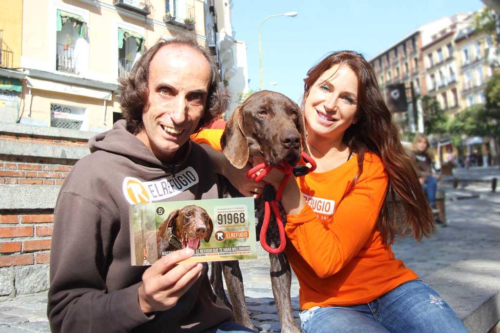 Macario, un perro de El Refugio muy especial