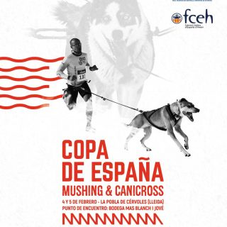 La Pobla de Cérvoles acoge una nueva prueba de la Copa de España de Mushing&Canicross.
