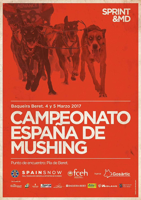 Campeonato de España de Mushing Nieve.