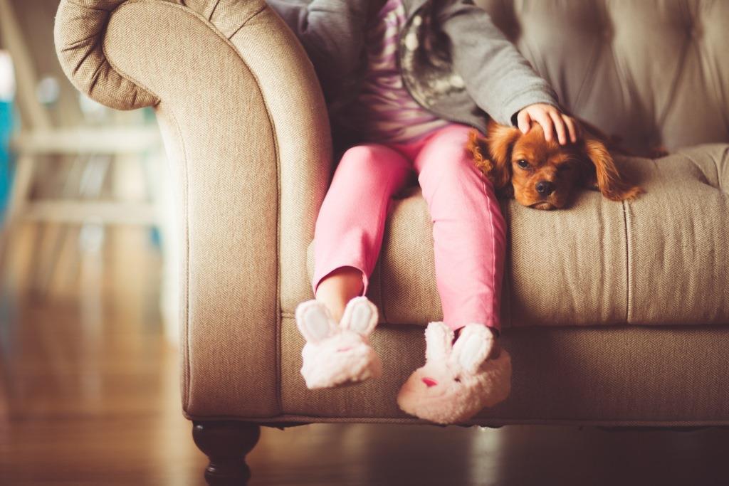 Beneficios de las mascotas para los niños.