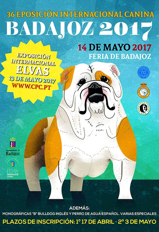 XXXIV Exposición Internacional Canina de Badajoz.