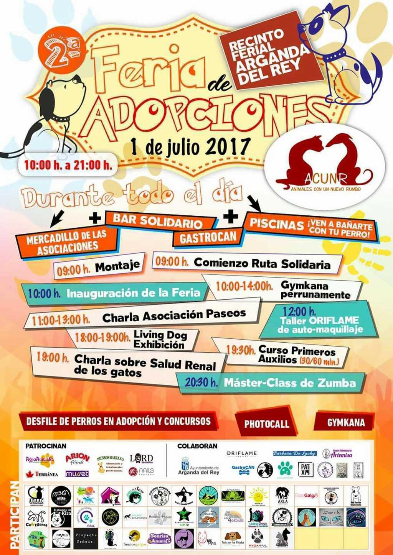 Adopciones perros Arganda 2017.