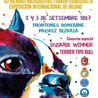 Más de 1.000 perros se darán cita este fin de semana en varias exposiciones caninas en Bizkaia.
