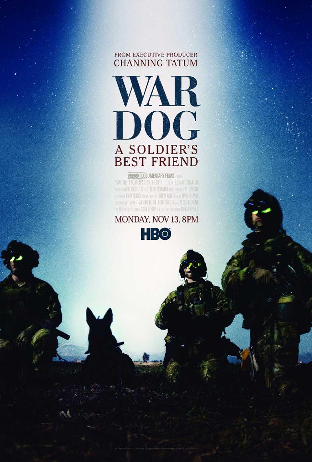 War dog. El mejor amigo de un soldado, en HBO.