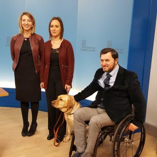 Ley de acceso al entorno de los usuarios de perro de asistencia.