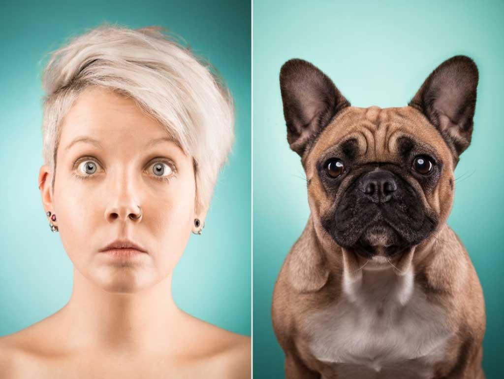 The dog people, interesante experimento fotográfico.