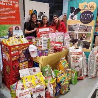 Por un mundo animal sin comedores vacíos, la iniciativa de la Fundación Kiwoko ha conseguido recoger más de 15.000 kg de alimentos con el fin de alimentar a aquellos perros y gatos que están en busca de un nuevo hogar