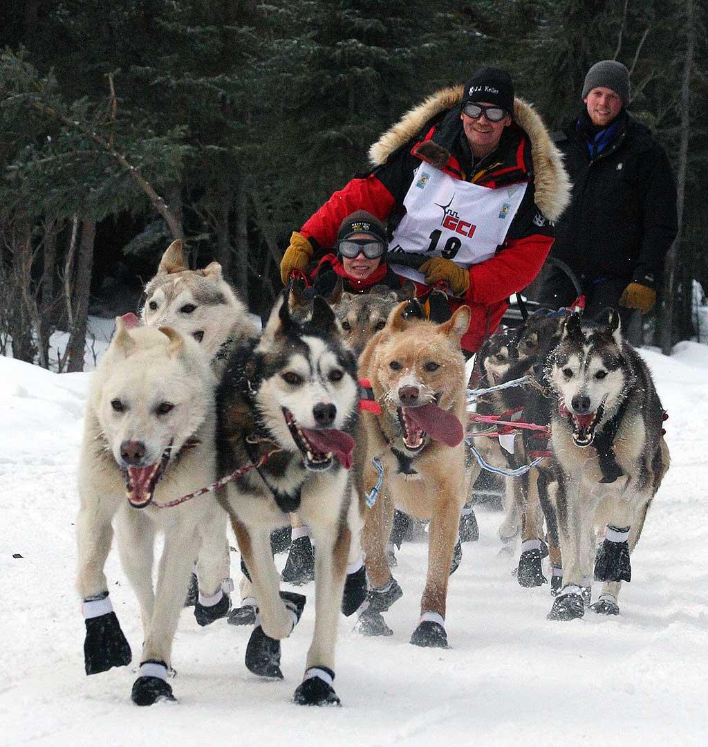 Iditarod, La gran carrera de Alaska, es cada año más criticada por PETA