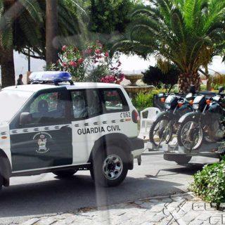 La Guardia Civil investiga a tres cazadores por disparar a un perro en Caravaca de la Cruz.
