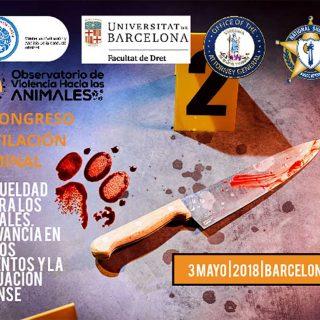 I Congreso Internacional de Violencia hacia los Animales en España.
