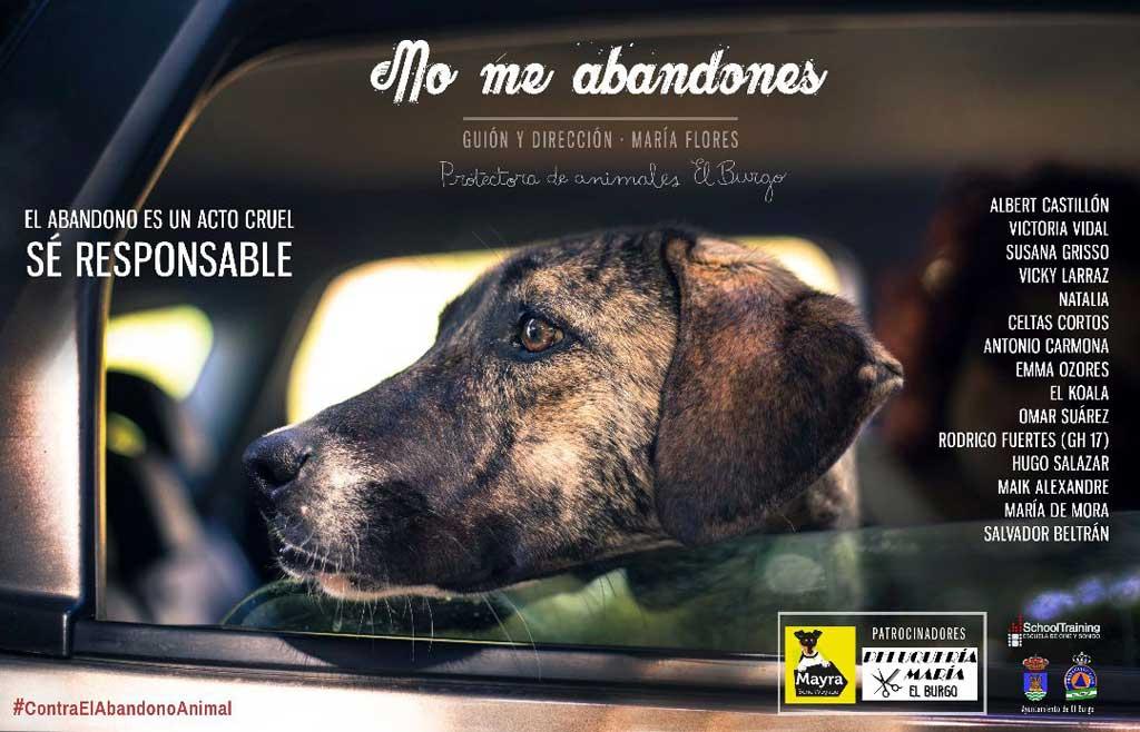 """Campaña """"No me abandones""""."""