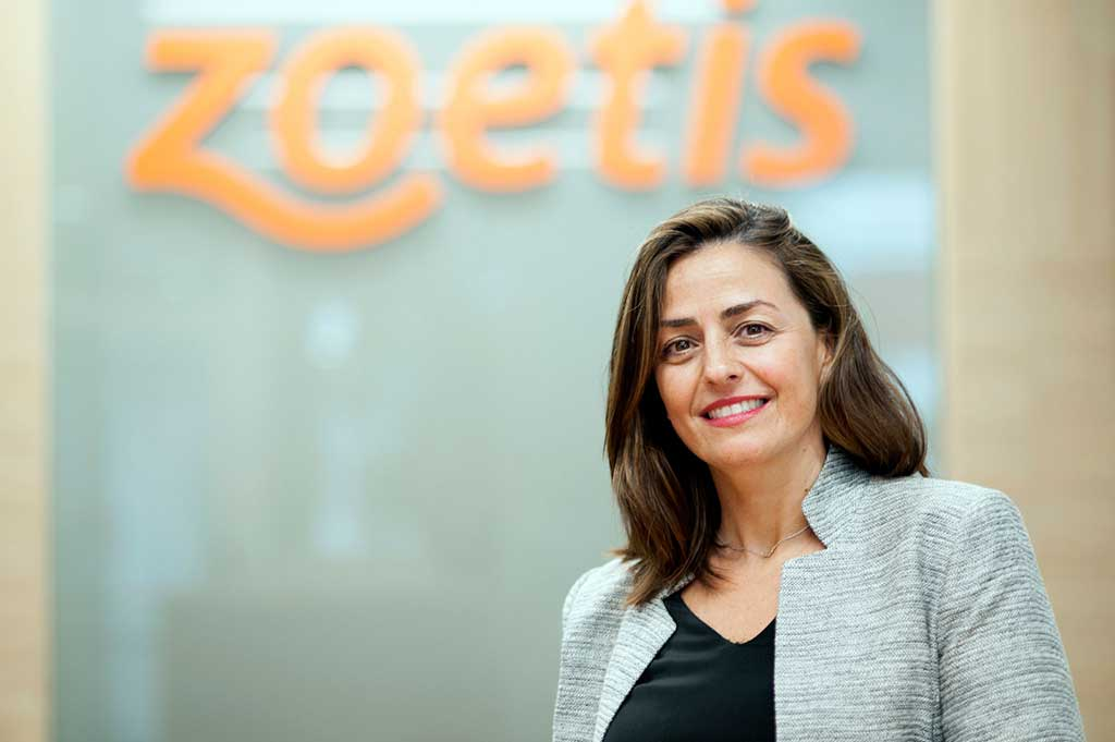 Marta Sánchez de Lerin, directora del área de Animales de Compañía en Zoetis España.