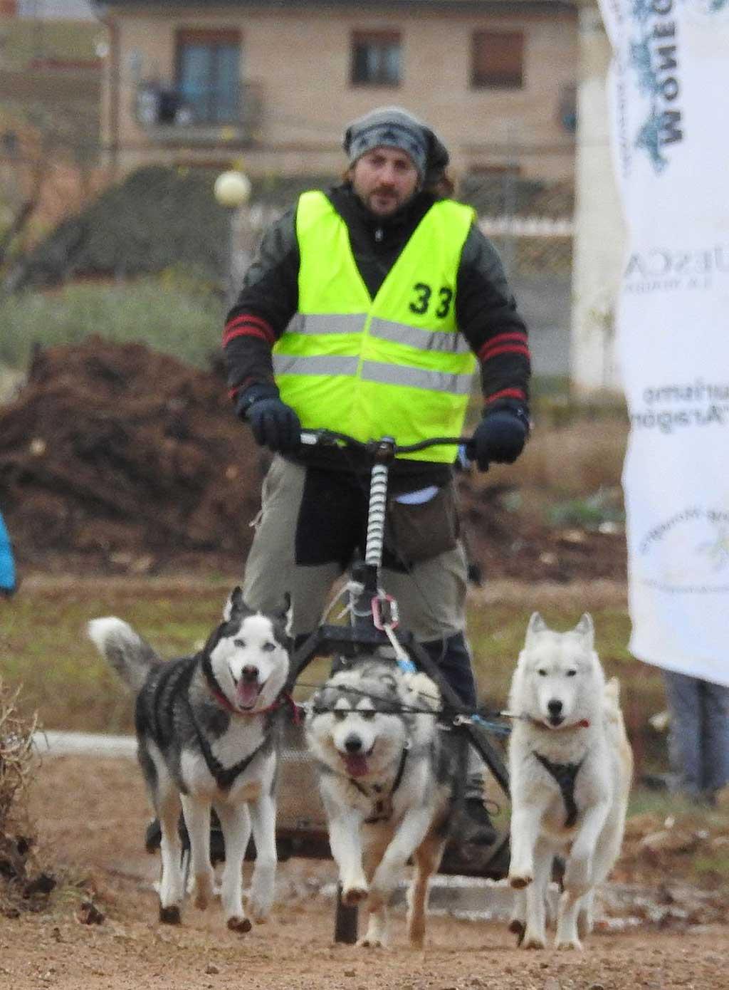 XXVII Travesía con Perros de Tiro en el Moncayo.