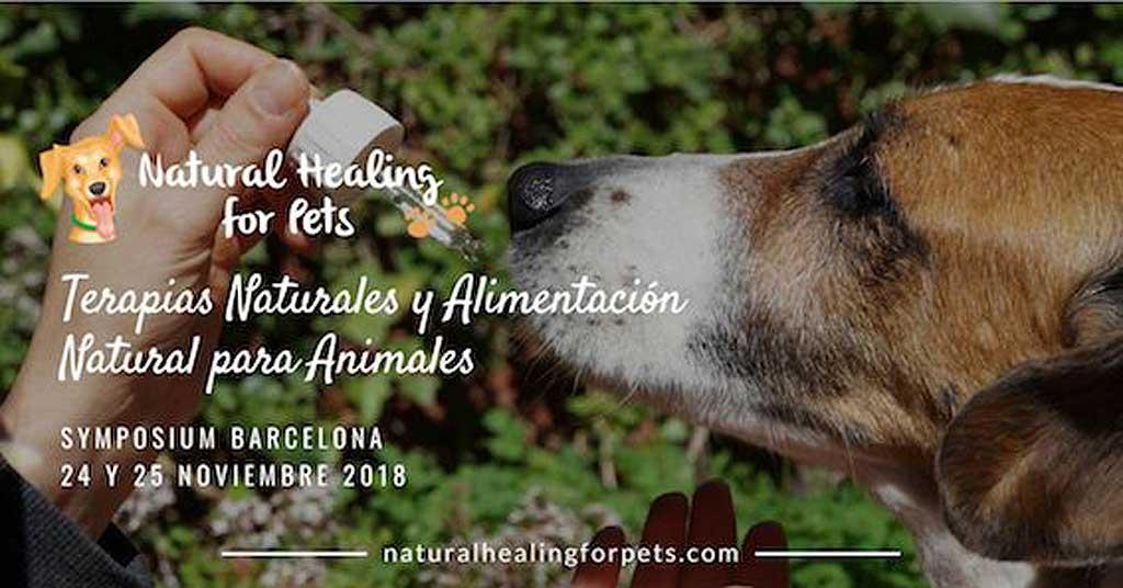 Natural Healing for Pets Symposium 2018. 24-25 de noviembre, en Barcelona.