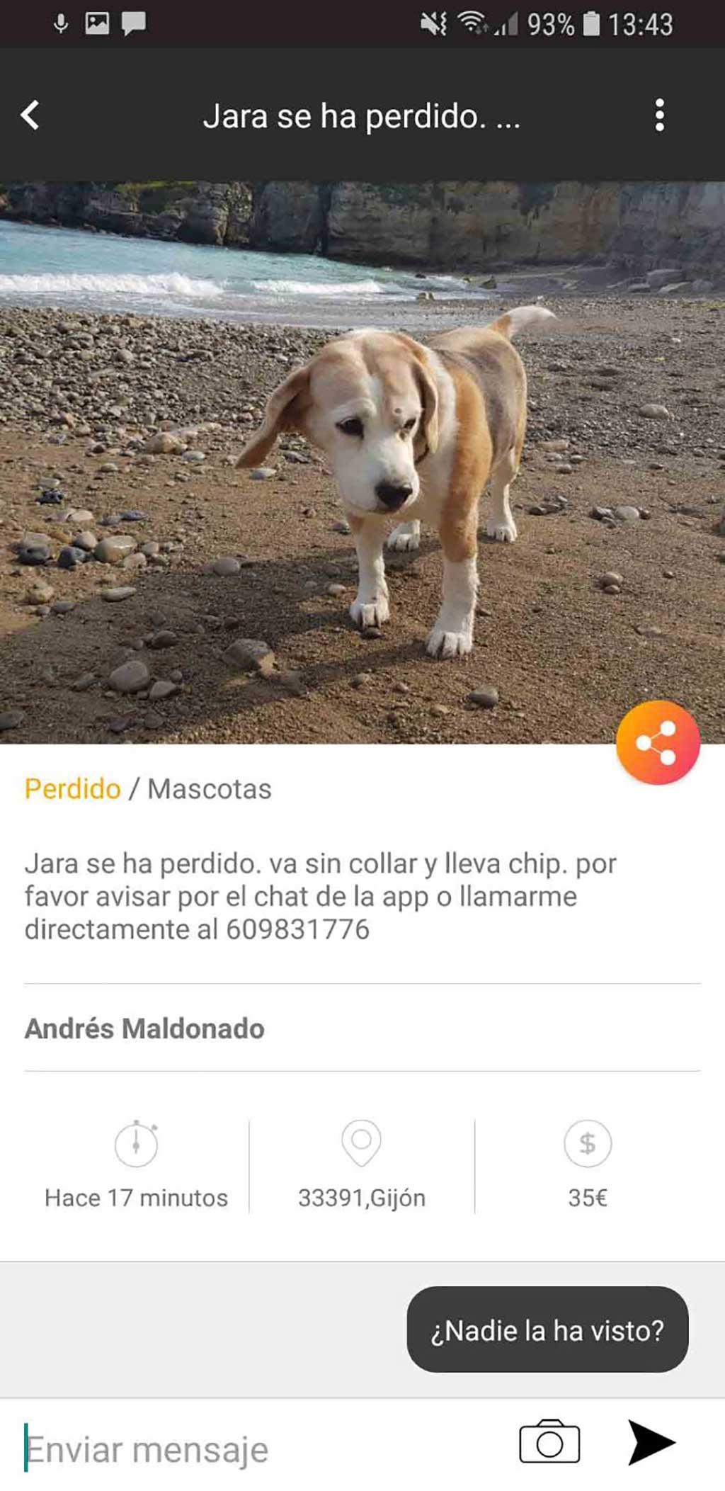 Welppy, app que ayuda a localizar mascotas perdidas
