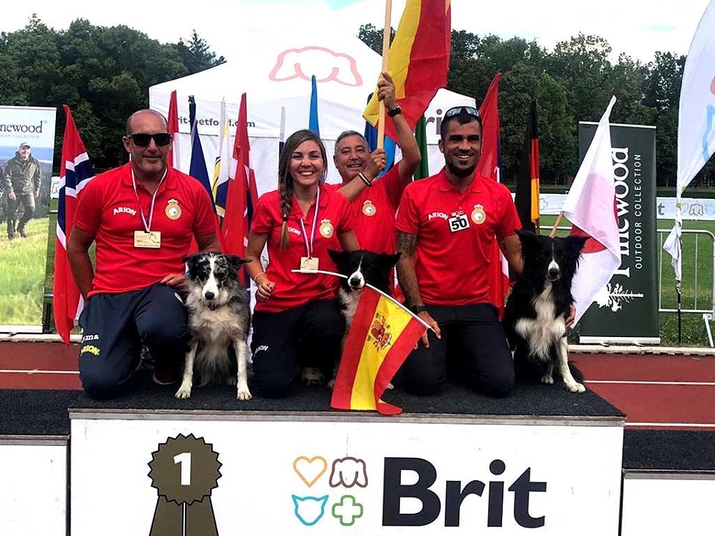 Campeonato del Mundo de Obediencia de la FCI , celebrado del 4 al 7 de julio de 2019 en Kladno (República Checa)