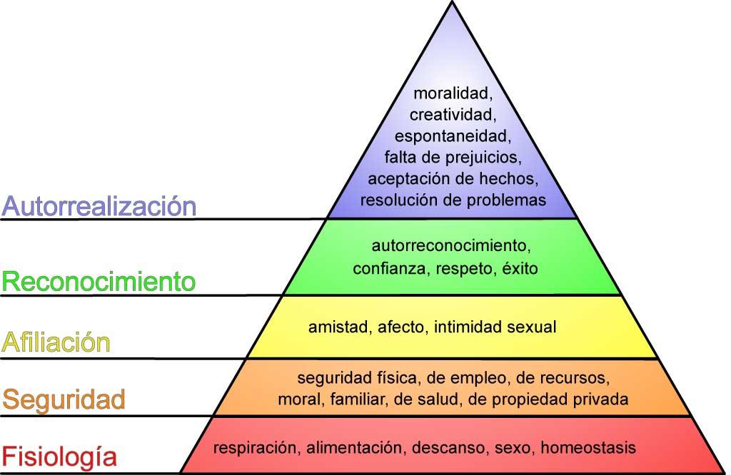 La pirámide Maslow en los perros.