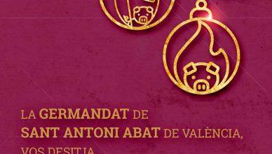 La Germandat de Sant Antoni Abat de Valencia celebrará el próximo 17 de enero la tradicional fiesta de bendición de animales, en el que año tras año convierte a la Calle de Sagunto en un lugar donde los animales son los protagonistas.