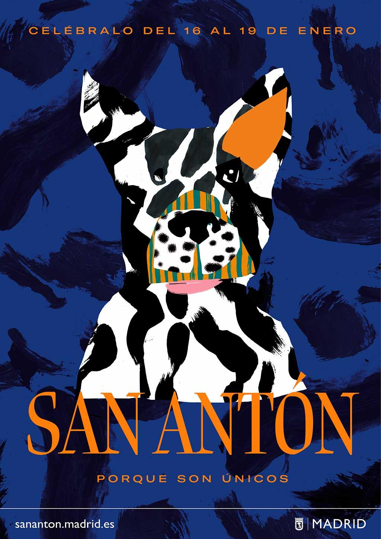 El Ayuntamiento conciencia a los madrileños de los cuidados que requieren los animales que viven en la ciudad con motivo de San Antón.