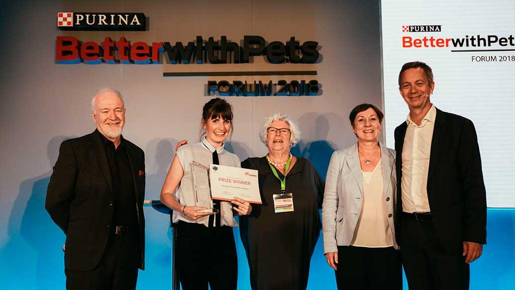 Purina anuncia los finalistas del Premio BetterwithPets Prize 2020.
