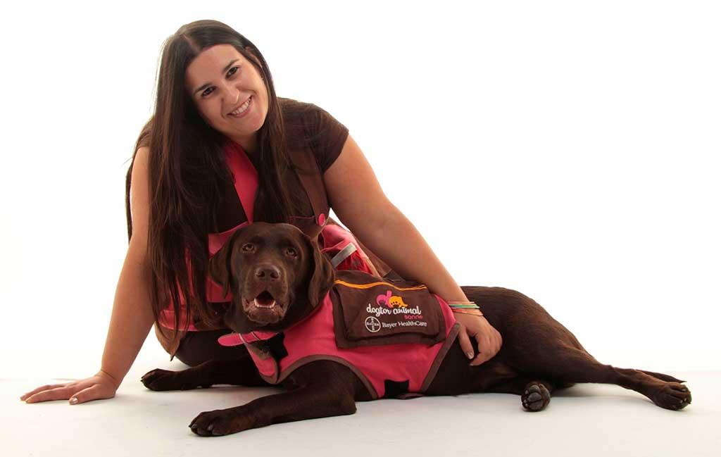 Wamiz.es habla con Vanessa Carral, codirectora de Dogtor Animal, para conocer más a fondo su proyecto Courthouse Dogs.