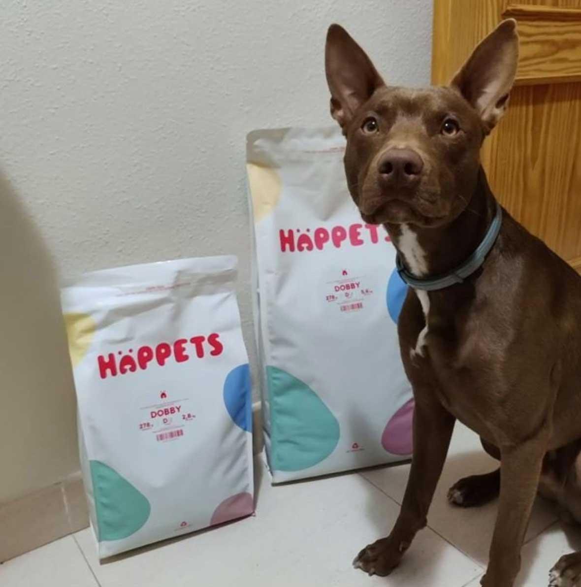 Comida premium personalizada para perros: calidad y sostenibilidad.