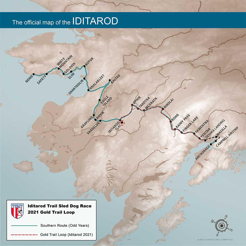 Iditarod da la salida a la edición 2021, así fue el origen.