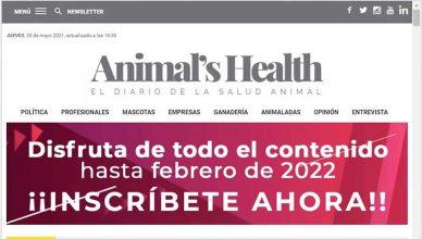 Animal's Health estrena nueva imagen y mejoras en su diseño.