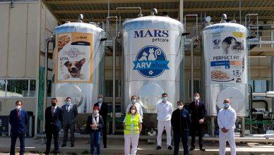 Mars invertirá 28 millones de euros en su planta de Arévalo (Ávila).