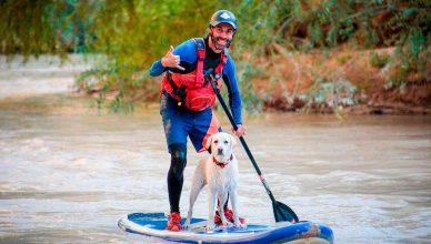 Valdearenas, la única playa para perros en Andalucía Interior.