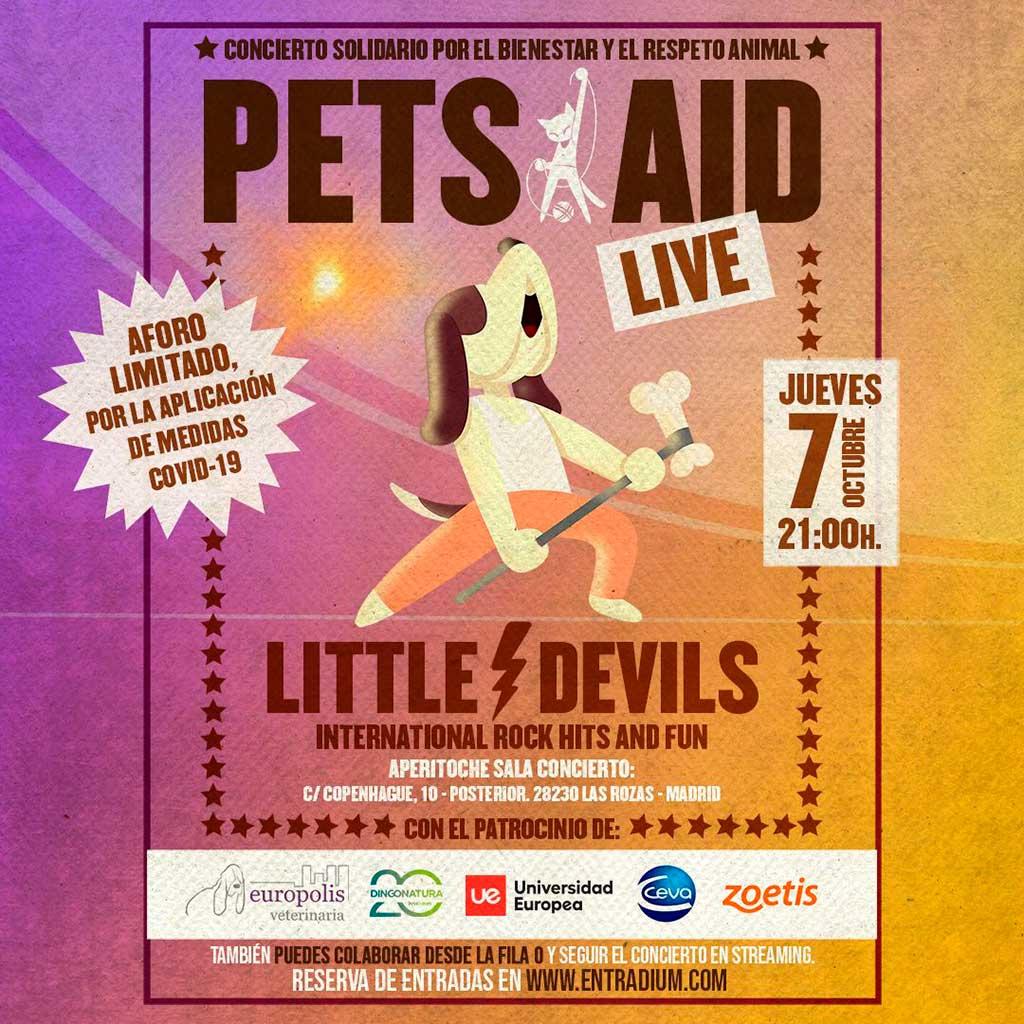Concierto solidario en favor del bienestar y el respeto animalOrganizado por Pets Aid, asociación sin ánimo de lucro con la que colabora Zoetis.